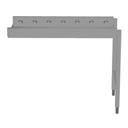 Handling systeem voor afwasmachineRollenbaan, korte rollen, 1100 mm