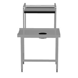 In-/UtmatarbänkSorteringsbänk för diskmaskin. Matning höger></noscript>vänster. 1 Skrädningshål. 1000x715 mm