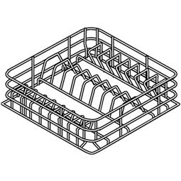 LaverieCasier 16/8 assiettes  (diam:190/240mm)