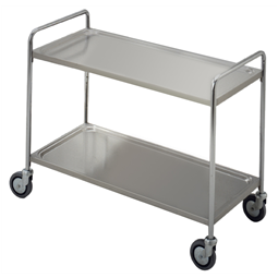 Service TrolleysTwo Tier Service Trolley with Handle 900 mm