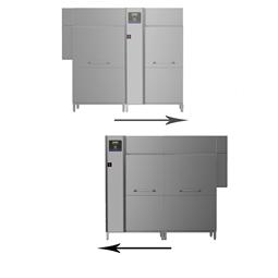 Pranje posuđagreen&clean tračna perilica posuđa dual rinse, 250 košara/sat, električni, 50Hz