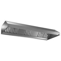 Ventilation304 S/S Hotte adossée 4000X1100mm