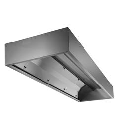 Ventilazione<br>DK a parete in acciaio inox AISI 304 - 1600x1200mm