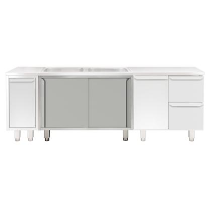 Modular Preparation1200 mm Cupboard Base for Sink Top