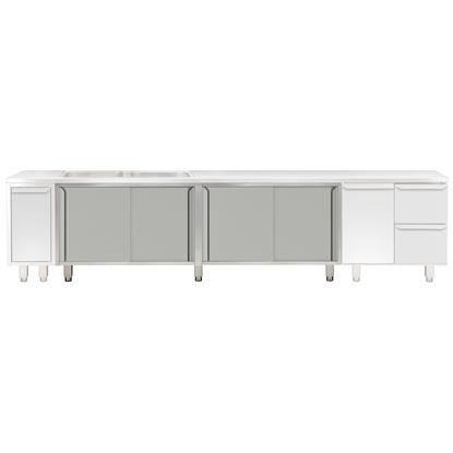 Modular Preparation2400 mm Cupboard Base for Sink Top