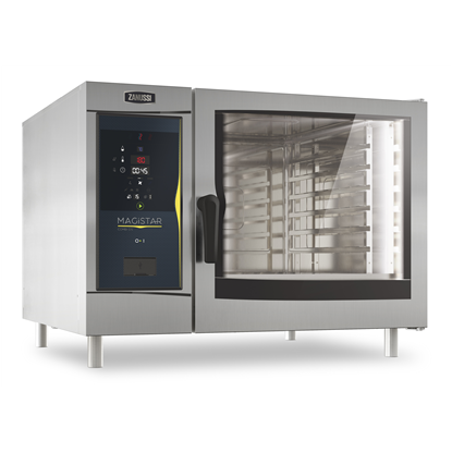 Magistar Combi DS<br>Forno digitale con boiler, gas 6 GN 2/1