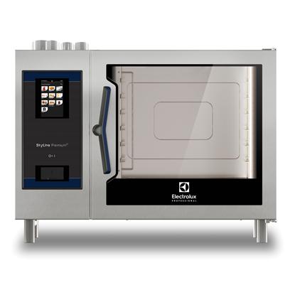 SkyLine PremiumSNatural Gas Combi Oven 6GN2/1, Green Version