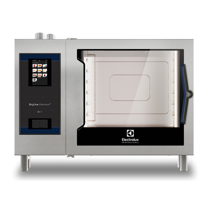 SkyLine PremiumSForno touch con boiler, gas 6 GN 2/1