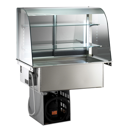 Drop-InRefrigerated Well with Open Display 3GN 1/1