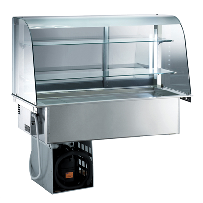 Drop-InRefrigerated Well with Open Display 4GN 1/1
