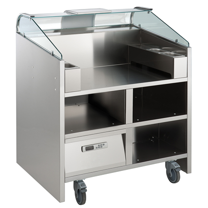 Libero Line SeriesLibero Point, 2 unit freestanding counter