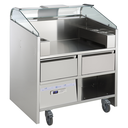 Libero Line SeriesLibero Point, 2 unit freestanding refrigerated counter
