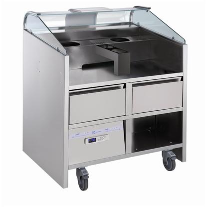 Libero Line SeriesLibero Point, 2 HP unit freestanding refrigerated counter