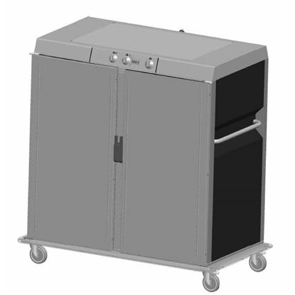 Transportní vozíkyBanketový vozík, vyhřívaný - 20xGN 2/1