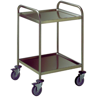 Service TrolleysTwo Tier Service Trolley with Handle 600 mm