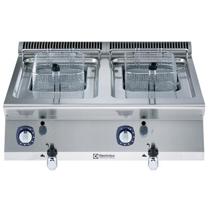 Modular Cooking Range Line700XP Two Wells Gas Fryer Top 7 liter