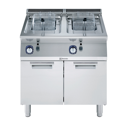 Modular Cooking Range Line700XP Two Wells Freestanding Gas Fryer 7 liter