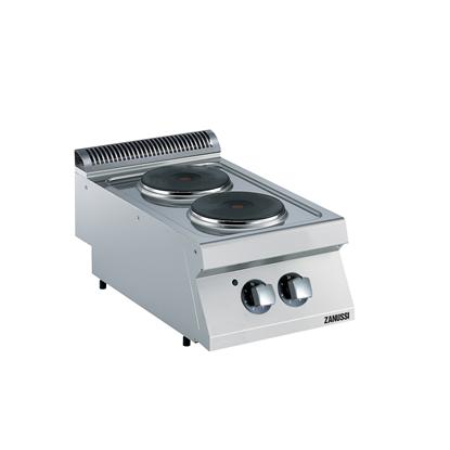 Gamma cottura modulare<br>EVO700 Cucina elettrica top 2 piastre