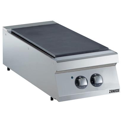 Gamma cottura modulare<br>EVO700 Tuttapiastra elettrico top 400 mm