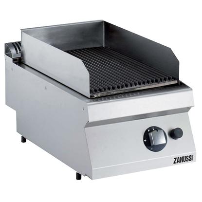Modular Cooking Range Line<br>EVO700 Half Module Gas Lava Stone Grill Top