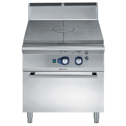 Модульное тепловое оборудованиеГазовая плита концентрического нагрева 900XP на конв. жарочном шкафу