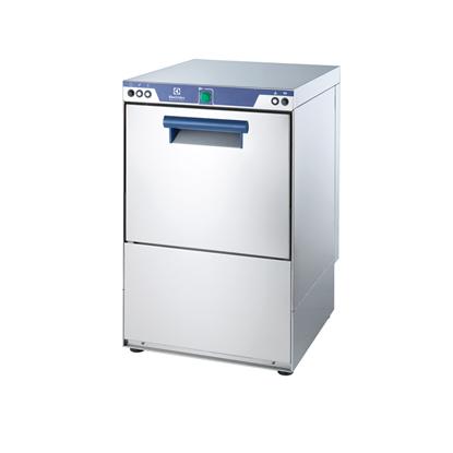 WarewashingExtrasmall Single Skin Glasswasher with Drain Pump, 1 cycle, 30b/h