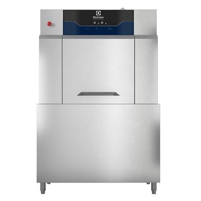 餐具洗涤单喷淋通道式洗碗机,200筐/小时,电加热,71度试纸,50Hz(380-400V)