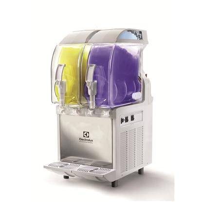 Slush, cold creams & mjukglassBehållare för slush, med 2 isolerade 11-liters behållare, mekanisk styrning