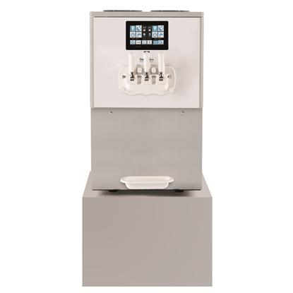 Soft ServedPortofino Soft Ice Cream Dispenser, 2 flavours+1mix, electr.control&touch panel, 500cones/h-gravity