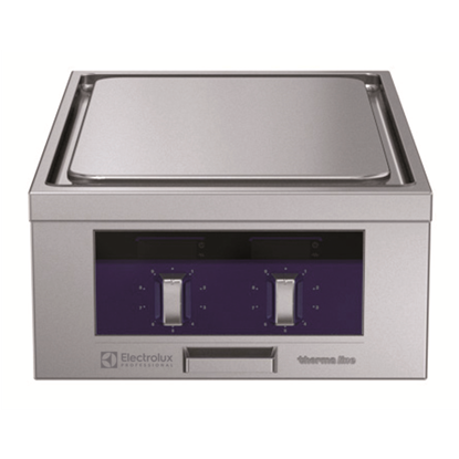 Modular Cooking Range Linethermaline 80 - 2 Zone Electric Solid Top, 1 Side