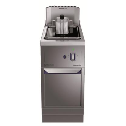Modular Cooking Range Linethermaline 85 - 14 liter Freestanding Gas Deep Fat Fryer, 1 Side with Backsplash