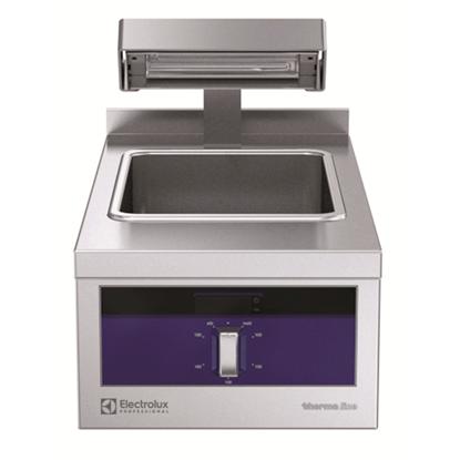 Modular Cooking Range Linethermaline 90 - Electric Chip Scuttle, 1/1 GN, 1 Side with Backsplash