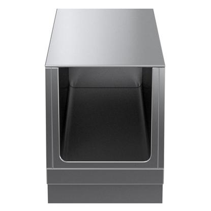 Modular Cooking Range Linethermaline 90 - 400 mm Open base, GN conform, 1 Side (H2) - H=450