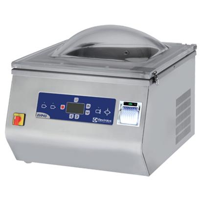 Confezionatrici Sottovuoto<br>Confezionatrice sottovuoto da banco con stampante HACCP - 20 m³/h