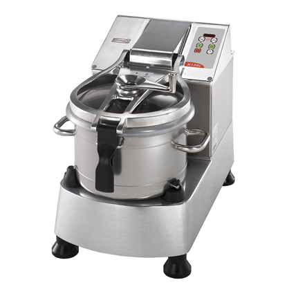 Food Processor<br>Stainless Steel Cutter Mixer - 11.5 LT - Variable Speed with Microtoothed Blade, Bowl and Scraper