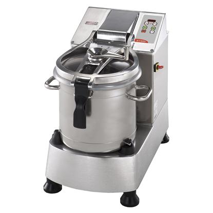 Cutter Mixer<br>Cutter mixer, vasca in INOX - 17.5 lt - velocità variabile, lama microdentata e raschiatore
