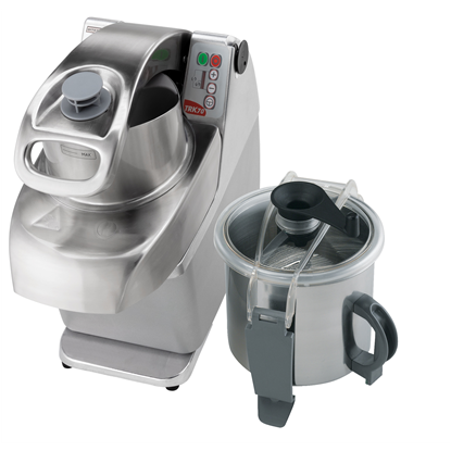 Tagliaverdure<br>TRK70 Combinato cutter/emulsionatore/tagliaverdure, velocità variabile, vasca INOX da 7 lt