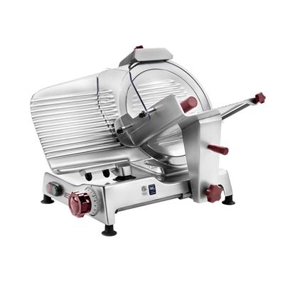 Food slicers<br>250 mm Light Duty Gravity Slicer, belt transmission