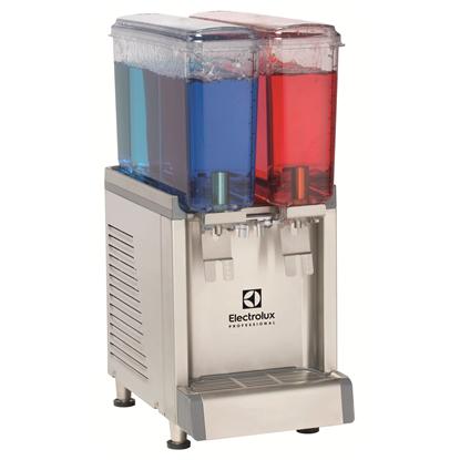 Dispensrar för kylda dryckerDryckeskylare, 2 x 9-liters behållare och agitator