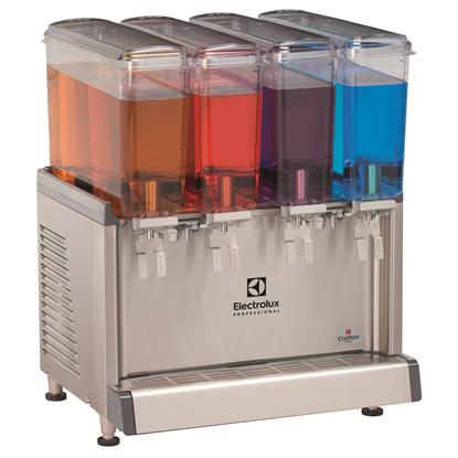 Simplicity BubblersCold Beverage Dispensers 4x9,1l L, agitator model