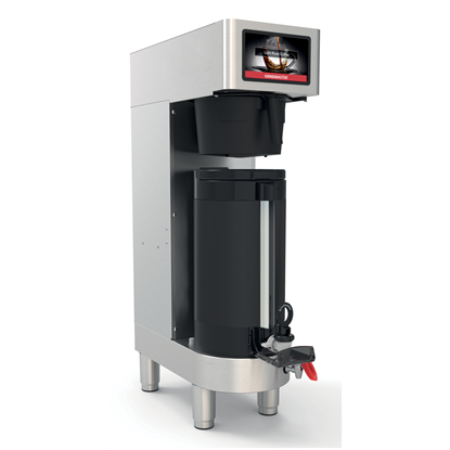 Coffee System<br>PrecisionBrew vacuum shuttle single brewer with integrated base