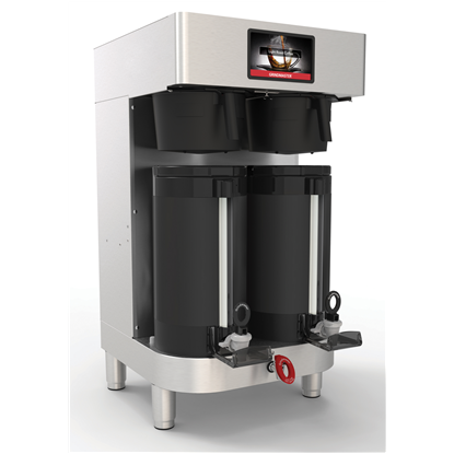Coffee System<br>PrecisionBrew vacuum shuttle double brewer with integrated base