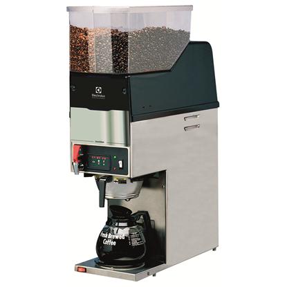 Koffie systemenKoffiezetapparaat met koffiemolen, dubbele bonencontainer, 1 filterhouder, 1 warmplaat