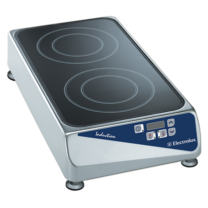 Libero Line SeriesPlug-in Induction cook top. 2 zones, front to back model