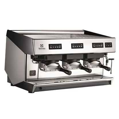 Coffee SystemMira Traditional espresso coffee FAP machine, 3 groups, 15.6 liter boiler, steam & water