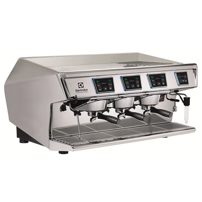 Coffee SystemAura Traditional espresso machine, 3 Maestro groups with Dosamat ®, Steamair