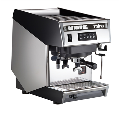 Coffee System<br>Traditional espresso machine, 1 group, 6.3 liter boiler