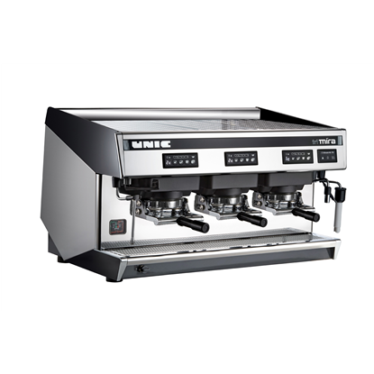 Coffee System<br>Traditional espresso coffee POD machine, 3 groups, 15.6 liter boiler with Steamair