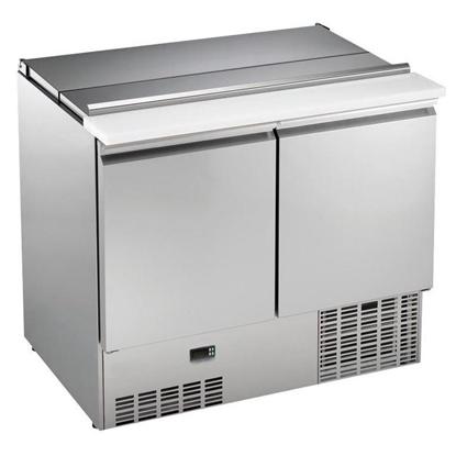 Stoly s digitálním ovládánímChlazená Minisaladeta 250L, 2 dveře, (+2/+10°C)