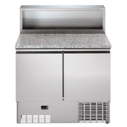 Digital UndercounterRefrigerated Counter Saladette - 250lt, 2 Door